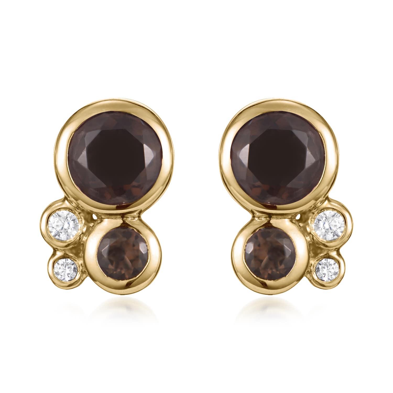 Orbis Cluster Stud Earrings
