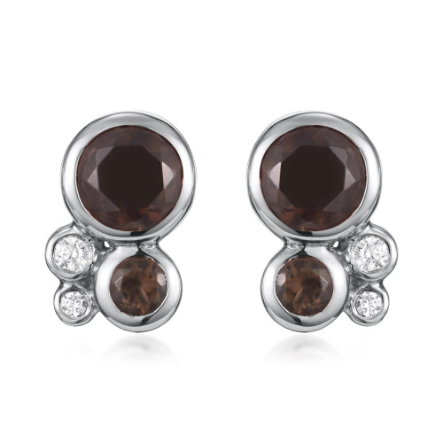 Orbis Cluster Stud Earrings