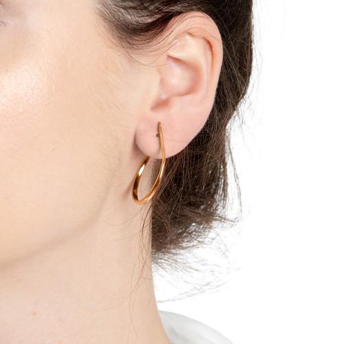 Lujia Hoop Earrings