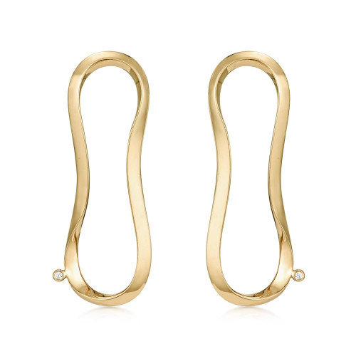 Marque Aureole Stud Earrings