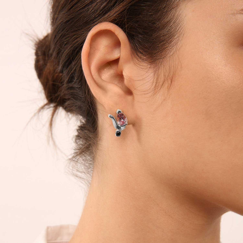 Belle Mix And Match Teardrop Stud Earrings
