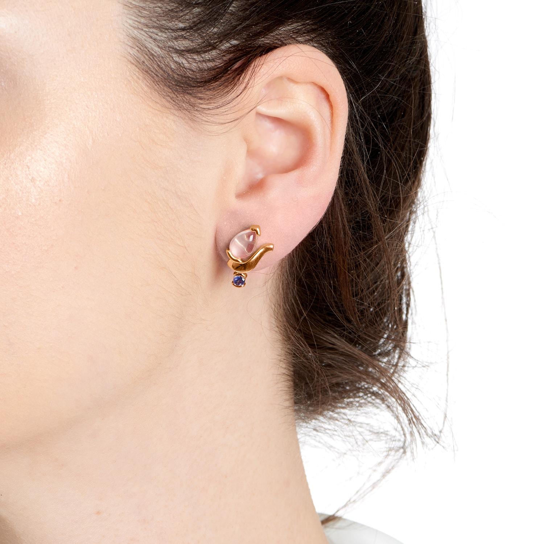 Belle Teardrop Stud Earrings