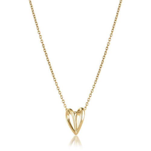 Lujia Perched Butterfly Necklace