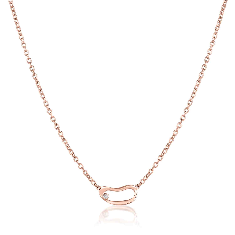 Marque Small Hoop Necklace