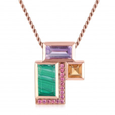 Ornate Geometric Pendant