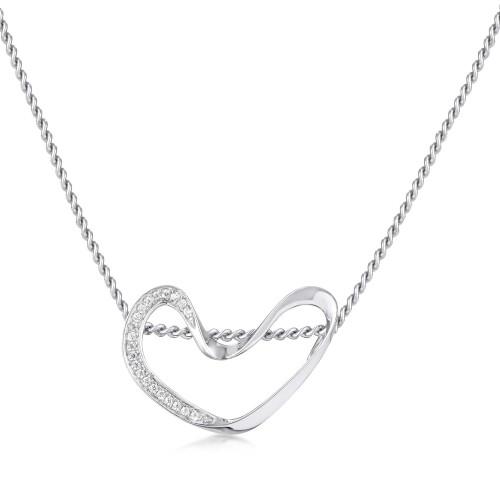 Marque Diamond Loop Pendant