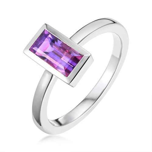 Ornate Amethyst Ring