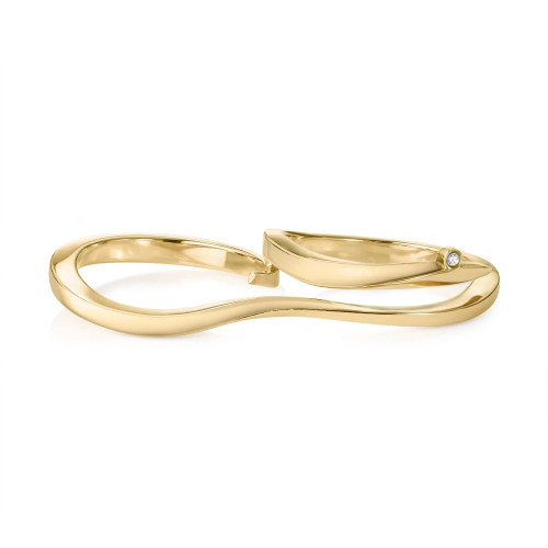 Marque Plain Double Ring