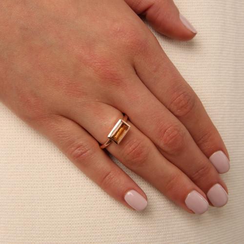 Ornate Citrine Ring