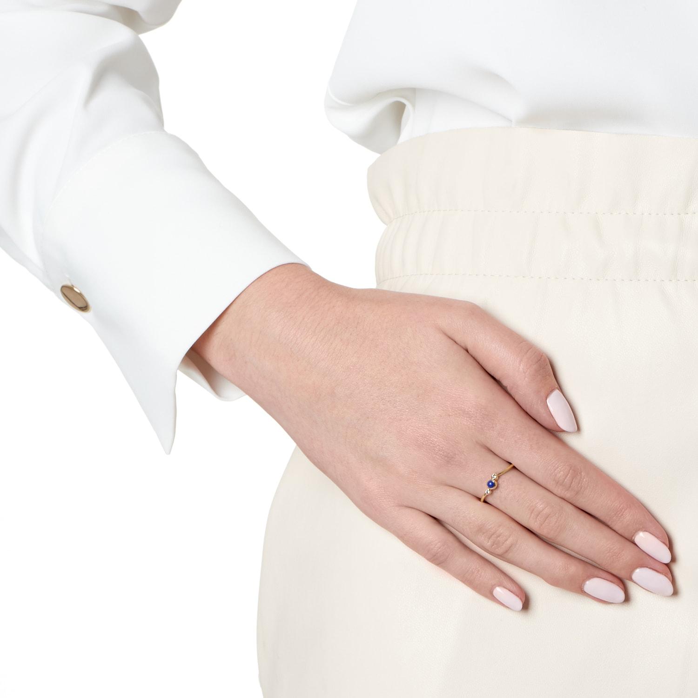 Orbis Lapis Fine Twist Ring