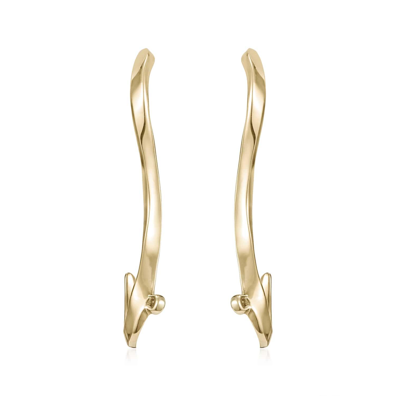 Marque Ripple Stud Earrings
