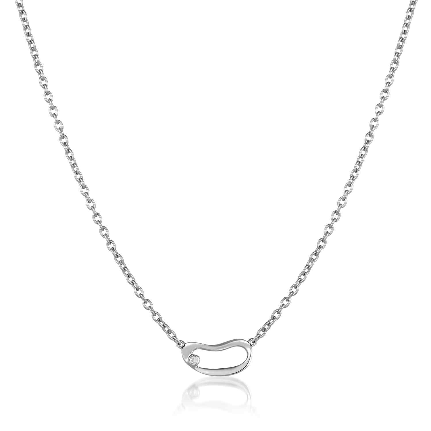 Marque Small Hoop Necklace